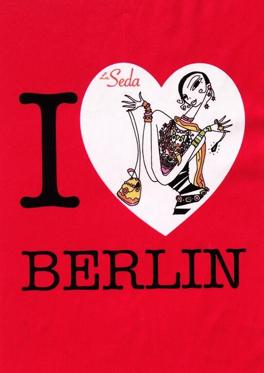 La seda I love Berlin