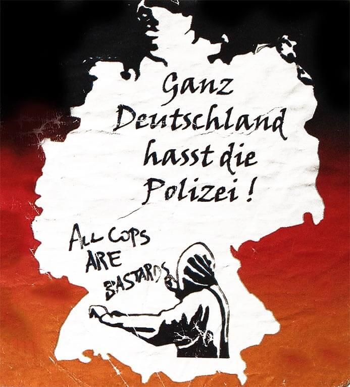 Ganz Deutschland hasst die Polizei!