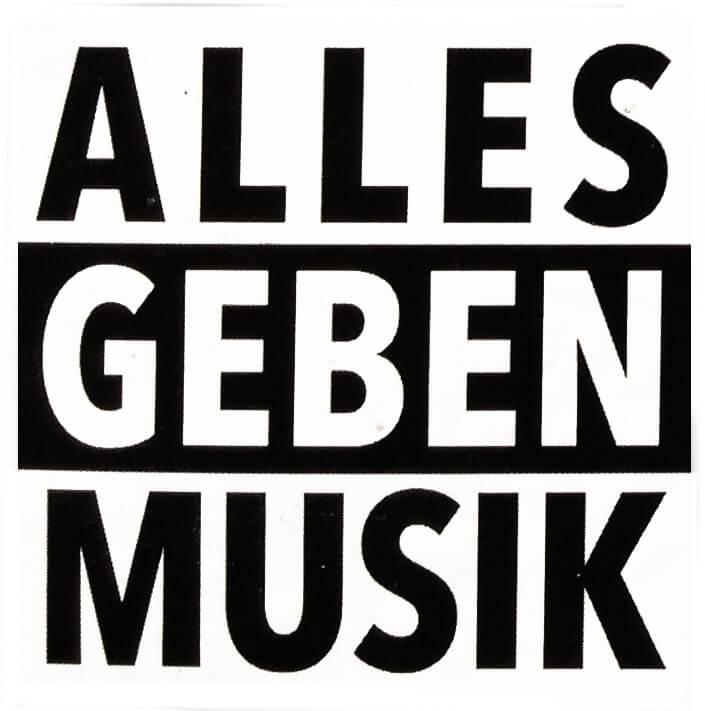 Alles geben Musik
