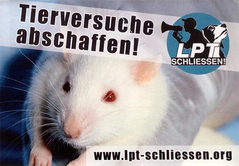 Tierversuche abschaffen!