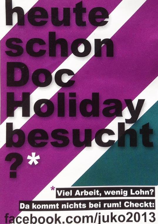 heute schon Doc Holiday besucht?