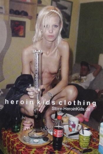 Heroin kids clothing