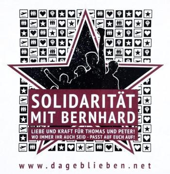 Solidarität mit Bernhard