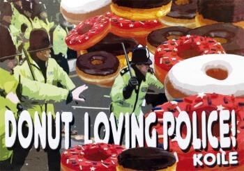 Donut loving police!