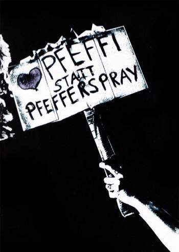 Pfeffi statt Pfefferspray