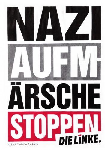 Nazi Aufmärsche stoppen