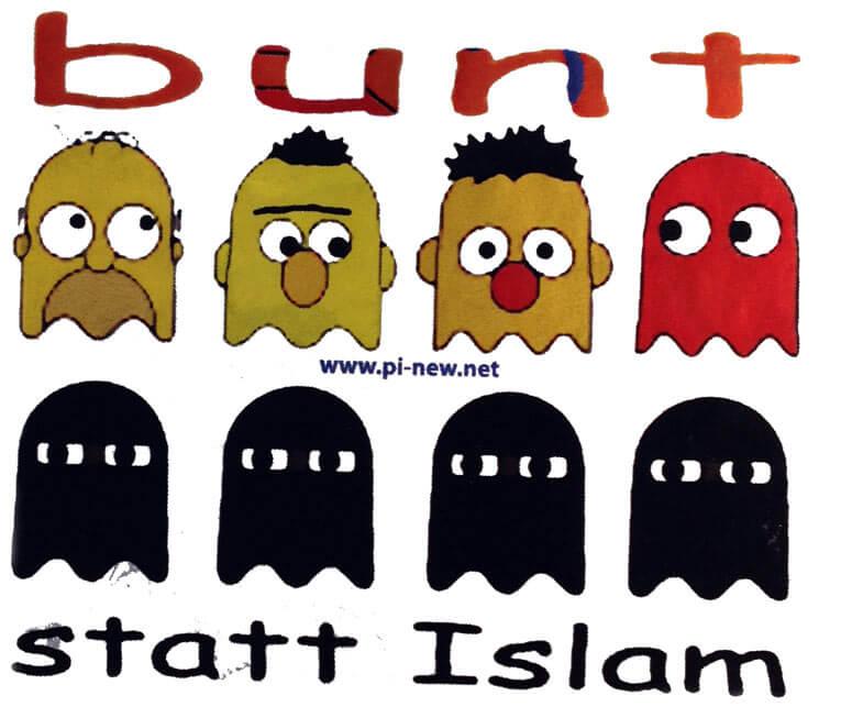 Bunt statt Islam