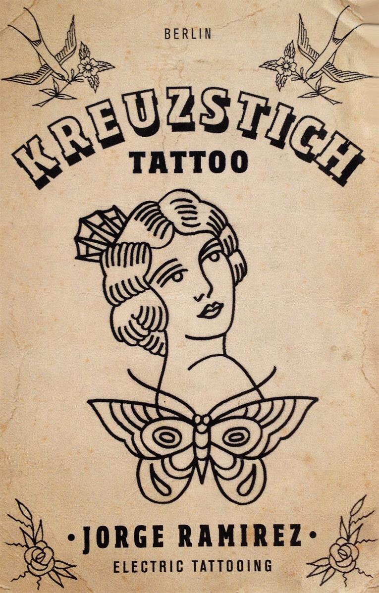 Kreuzstich Tattoo