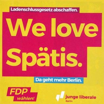 We love spätis