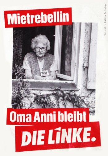 Oma Anni bleibt
