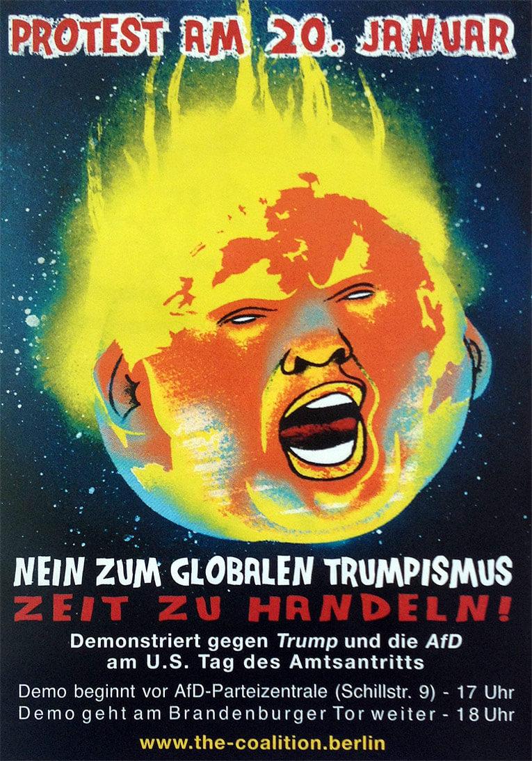 Nein zum globalen Trumpismus
