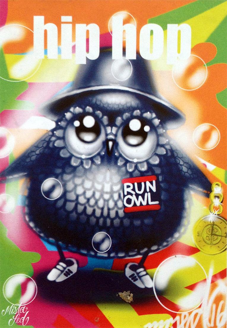 Run Owl Hip Hop