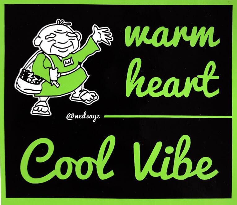 Warm heart, cool vibe